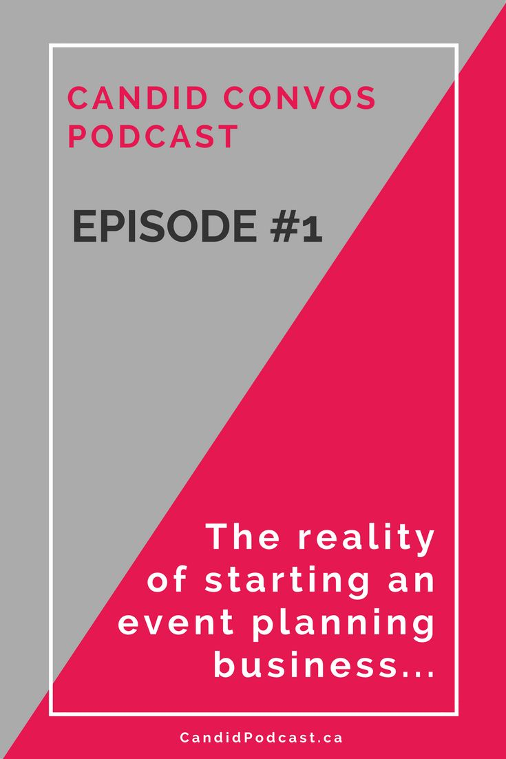 Get the behind-the-scenes scoop of what it's REALLY like to start an event management business, in the inaugural episode of the Candid Conversations podcast, a podcast sharing real stories of entrepreneurs in Winnipeg and across the globe