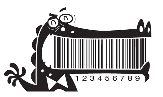 The barcode as you've never seen it before!   Packaging   Creative Bloq