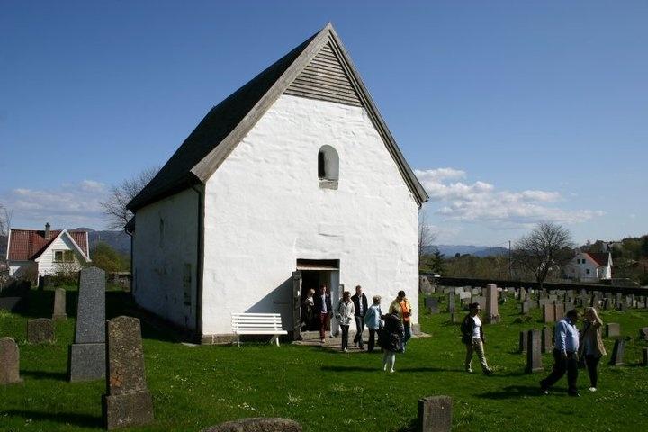 Home <3 Mosterhamn, Norway. Moster Old Church Photo: Karen Løvfall Våge