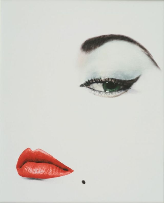 Erwin Blumenfeld - Doe Eye of Jean Patchett Cover for Vogue 1950