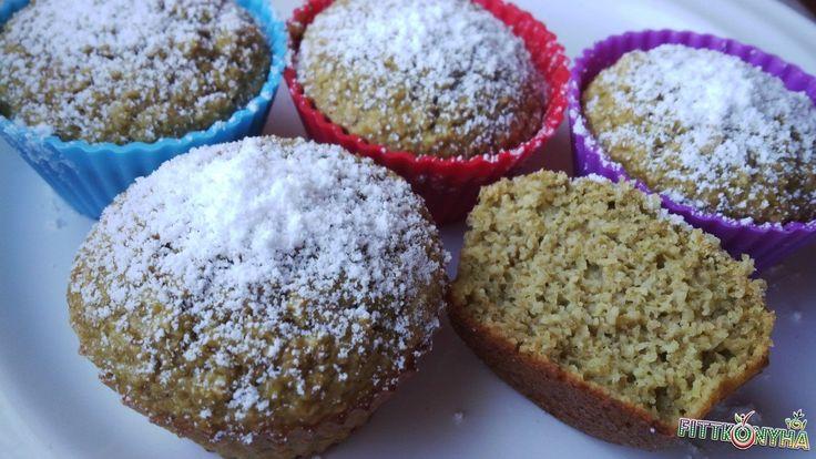 Zabkorpás muffin
