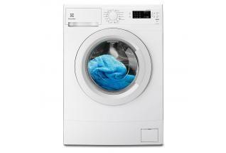 Grund tvättmaskin med översvämningsskydd | EWS1042EDU