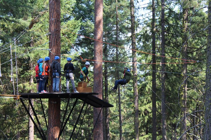 The Crater Lake Zipline is the best!