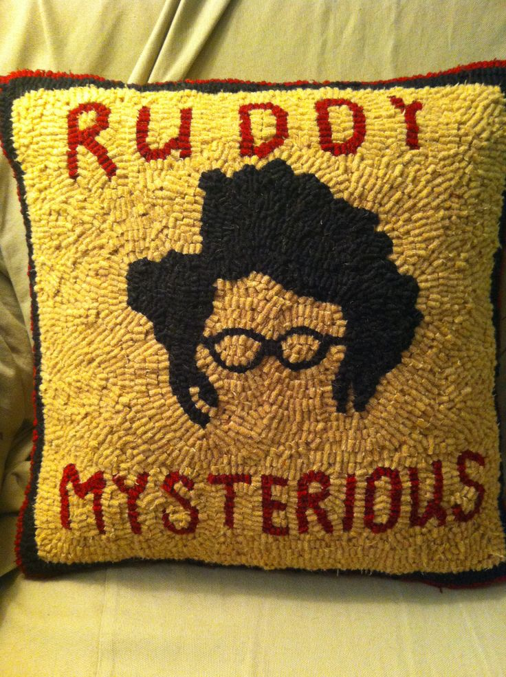 IT Crowd hooked pillow