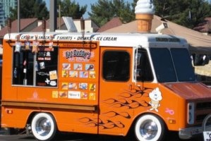 we could totally have fat daddys ice cream (the only ice cream truck with hydraulics and flame throwers) come after the taco truck