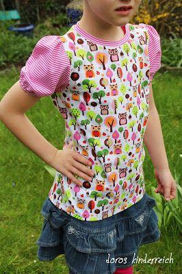 Freebook Erweiterung Puffärmel - für Basic Shirt (Freebook) von mamasnaehen