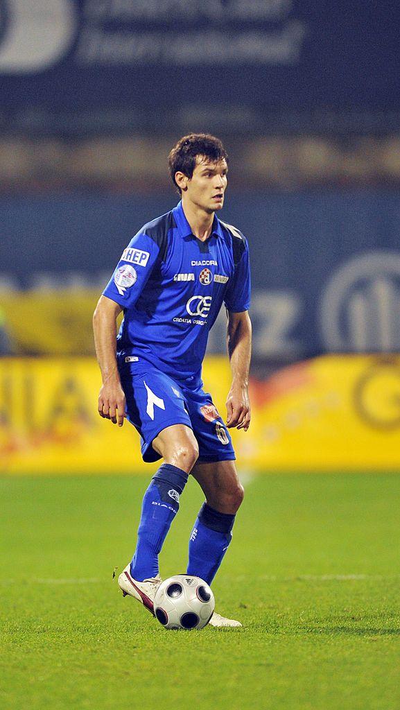Dejan Lovren Of Nk Dinamo Zagreb During The T Com Prva Hnl Match Zagreb Dejan Lovren Croatia