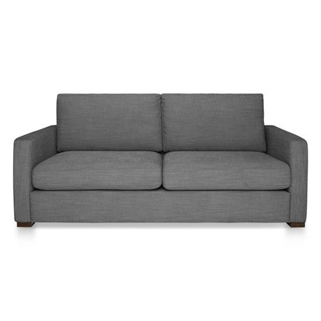 SIG Modern (STD) Sofa 2.5 (Foot-charcoal Collection Fou