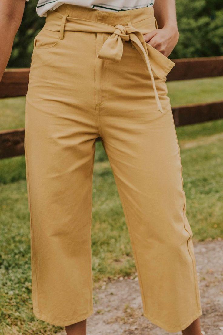 Travis Tie Trousers
