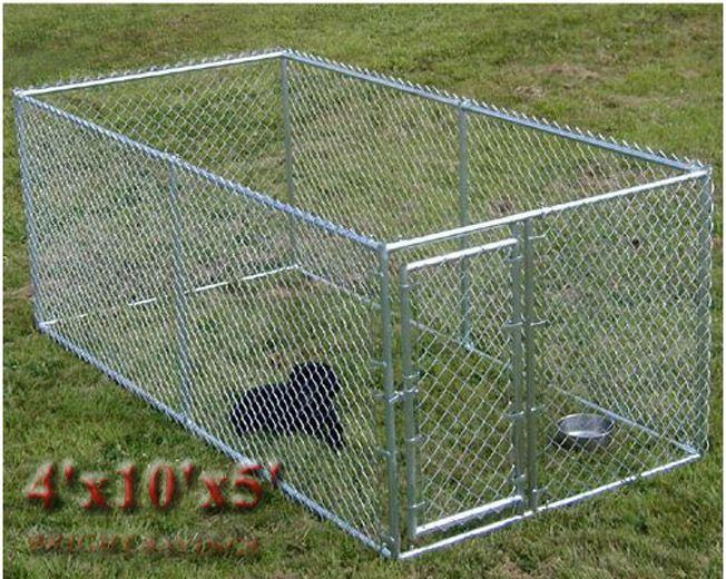 chain link dog kennel ebay