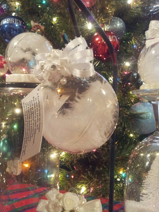 Guardian Angel feather, ornament and poem   My mother's ...