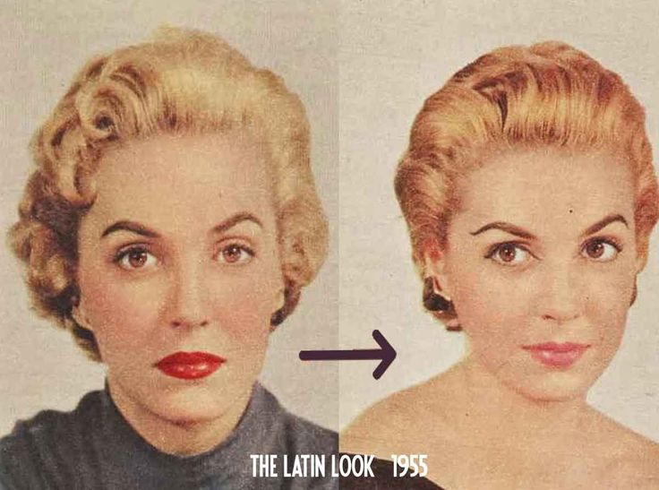 1950s Makeup: The New Latin Look of 1955