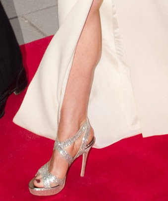 Kate Middleton In Champagne Glitter Jimmy Choo Vamp Sandals LegsPrincess ShoesPrincess