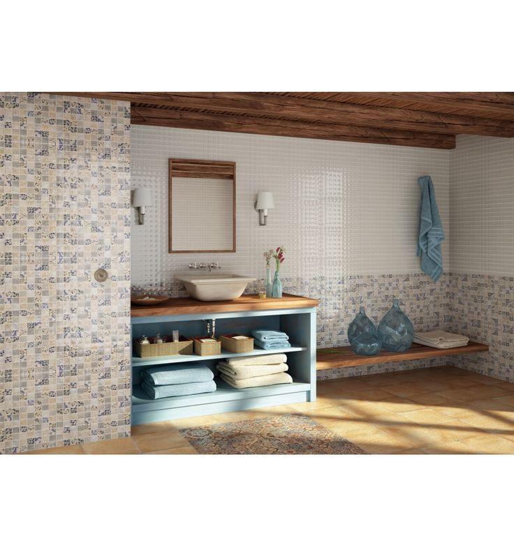 Mosaik - Kakelmonster | Mosaik Fusion Antique 25x40