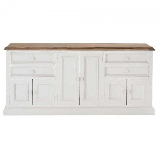 Mansfield Large Buffet White