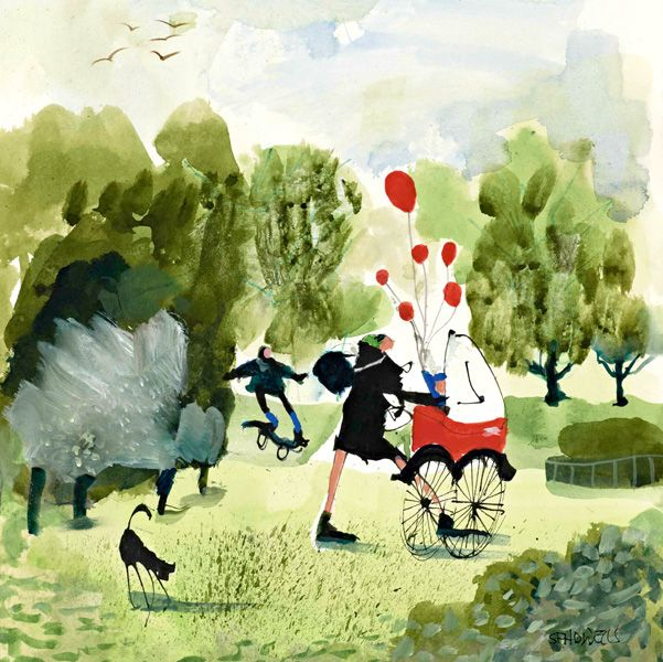 Sue Howells Just A Perfect Day Signed Limited Edition Print | Contemporary Art
