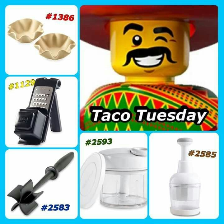 For your favorite taco lover..add our tex mex, or chipotle rub, and you'll have the perfect gift for any taco tuesday fan. Www.pamperedchef.biz/LindaLauas