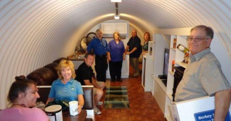 Компания Vivos Group строит в Калифорнии бункеры на случай конца света. Эти современные убежища оборудованы всем необходимым и способны выдержать даже удар
