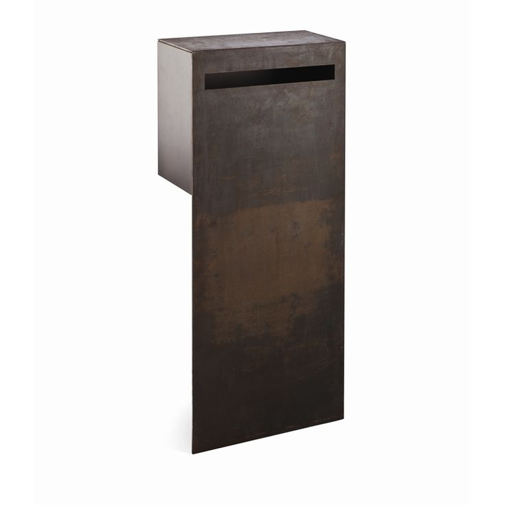 Letterbox Pillar Buzon Berta Saw Steel Buzfp01 I/N 3210224 | Bunnings Warehouse