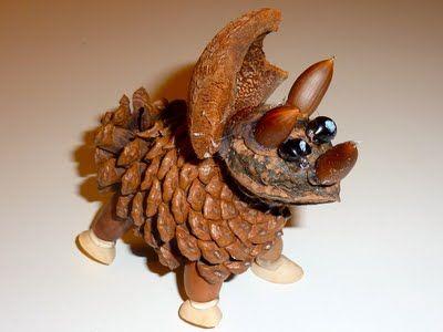 Pinecone Triceratops