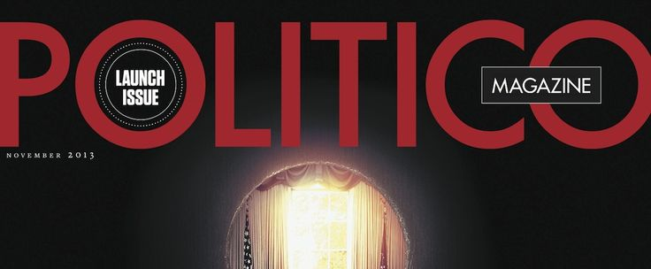 Politico Magazine Looks Like an In-Flight Magazine