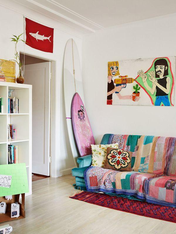 Best of Australian Homes 2014 · Ozzie Wright, Mylee Grace Fitzgerald & Family — The Design Files | Australia's most popular design blog.