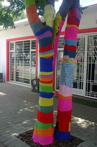 Parkhurst, Johannesburg, yarnbombing.