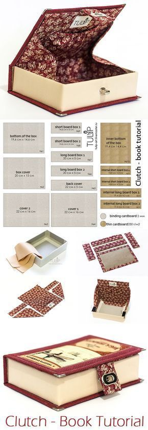 Embreagem – Livro Tutorial   – Selbermachen / DIY / Crafts 5