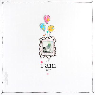 BerryCloud. Creo, ergo sum: I am happy / Layout
