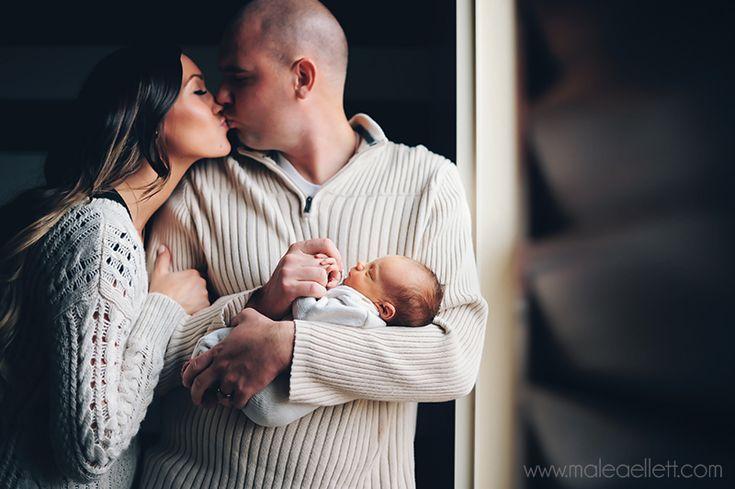Lifestyle Newborn Session In Home newborn session