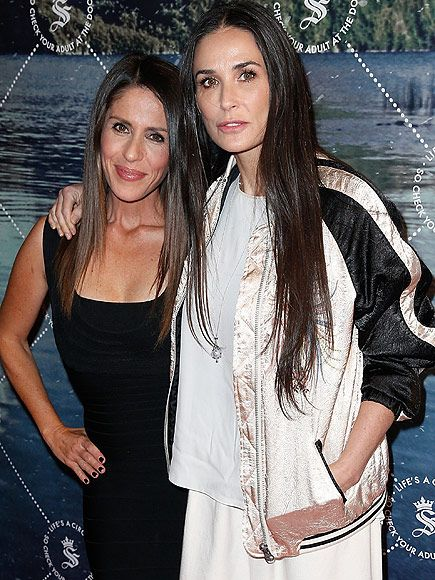 Star Tracks: Friday, May 29, 2015   YOU GROW, GIRLS   Demi Moore and Soleil Moon Frye hang tight at a launch party for Frye's Seedling line of kids' products in L.A. on Thursday.