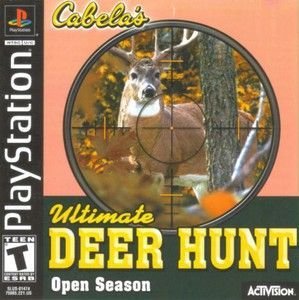 Ultimate Deer Hunt Open Season - PS1 Game