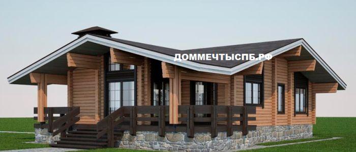 Проект дома № 1-1-27 (S=168 м2) | Дом мечты