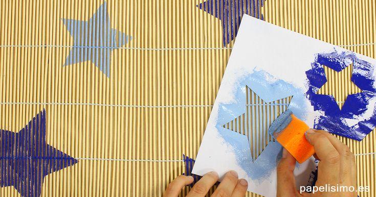 Aprende a hacer tú mismo y pintar con plantillas decorativas de papel. Si no conoces la técnica stencil, consiste en usar plantillas de papel, cartulina...