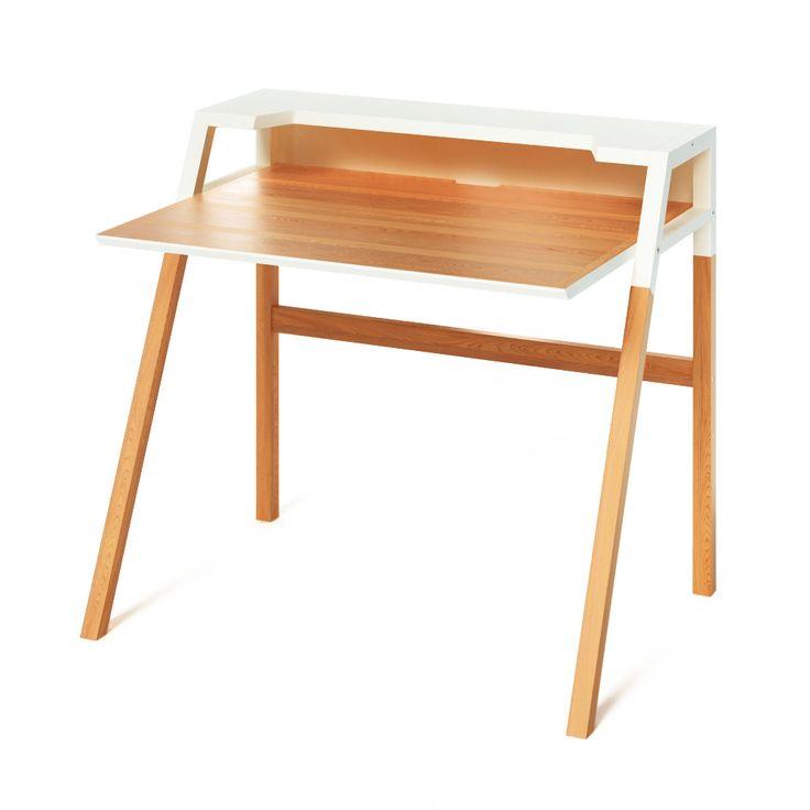 Письменный стол Youk светлый дуб от бренда The Idea — купить в интернет-магазине