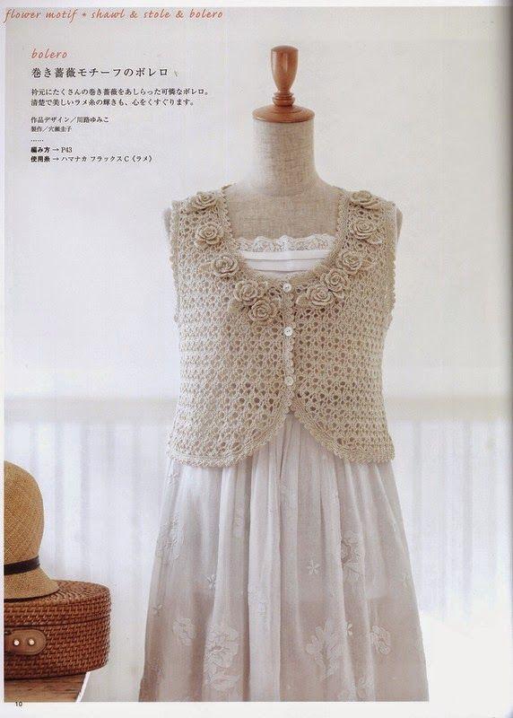 Häkeln Bolero - crochet