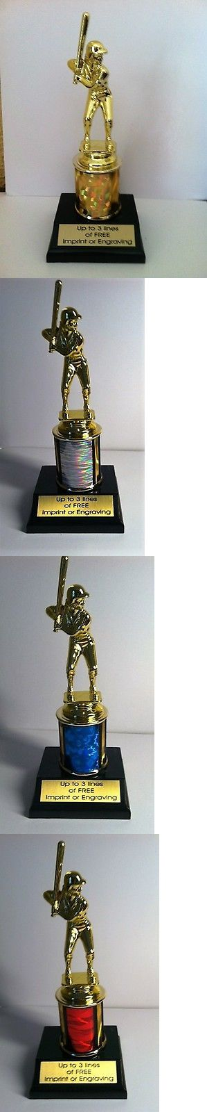 Other Baseball and Softball 181355: 12 Girls Softball Trophies For $48.00 BUY IT NOW ONLY: $48.0
