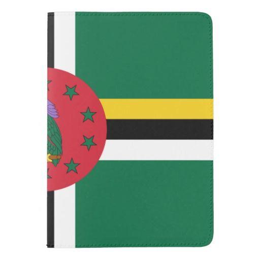 Dominican flag passport holder