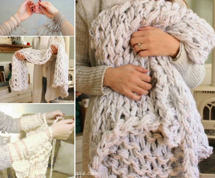 arm knit blanket tutorial easy diy pattern video instructions arm knitting scarf patterns and. Black Bedroom Furniture Sets. Home Design Ideas