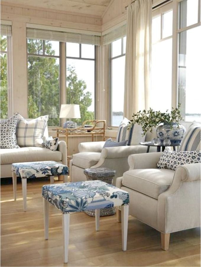 Charming Cottage Living Room Furniture Part - 2: Iconic Farmhouse Cottage Living - Sarah Richardson Style