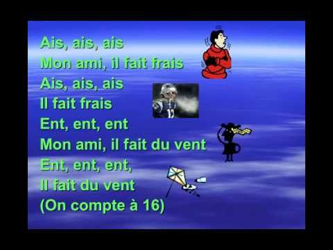 Quel temps fait-il? Awesome song/video to teach Weather terms and phrases in French