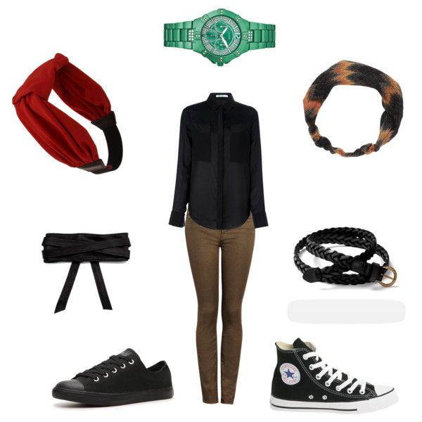 A fashion look from July 2012 featuring T By Alexander Wang blouses, 7 For All Mankind jeans and Converse sneakers. Browse and shop related looks.