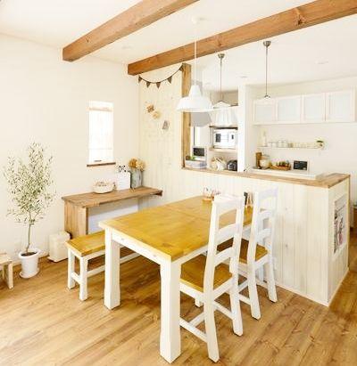 ★★★無垢の床材にしっくい☆とことん自然素材の家 - かわいい家photo