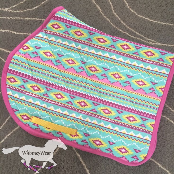 Aztec print patterned AP all purpose saddle pad by WhinneyWear