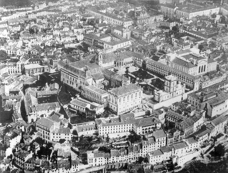 Alta de Coimbra, década de 30 do séc XX, antes das demolições