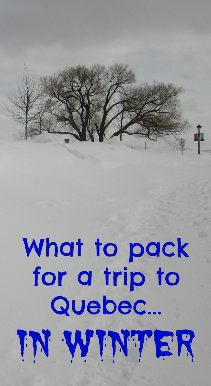 Quebec in winter is freezing cold, so what do you pack when you plan to do a lot of outdoor activities? This post gives you a list of the items I took with me for a 10-day trip on which I visited Quebec City, went skiing, snowshoeing, snowboarding and cro