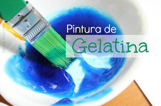 1 Sobre de gelatina Colorantes vegetales 2 tazas de agua caliente Mezcla la gelatina en la taza de agua caliente hasta que disuelva. Deja enfriar y separa en recipientes Pon 1 gota de colorante y revuelve.