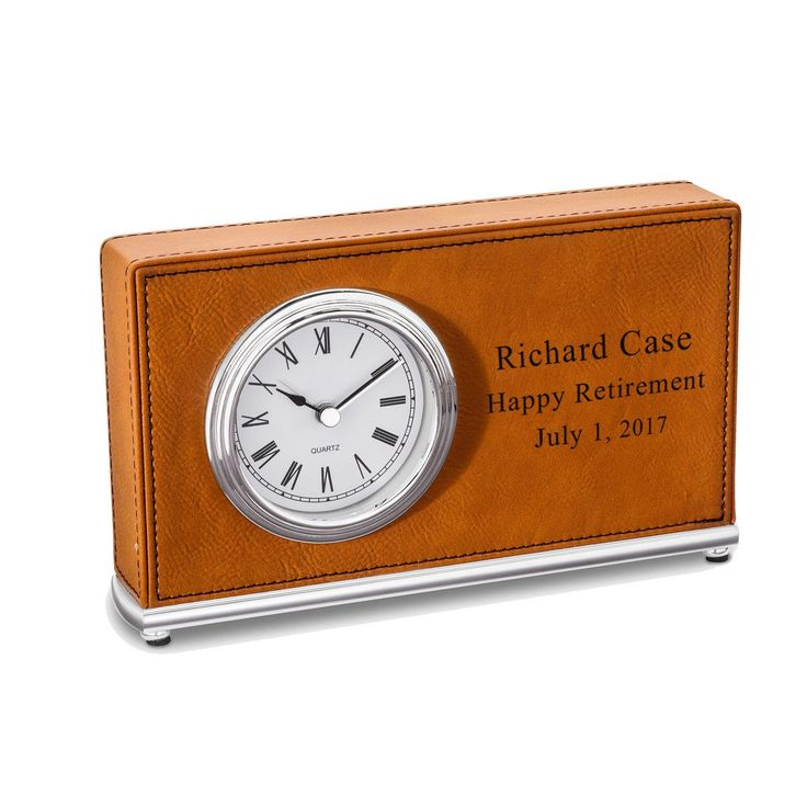 Personalized Rectangular Desk Clock U2013 Personalized Gifts