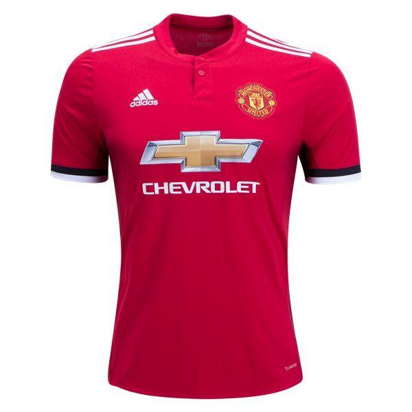 Maillot domicile Manchester United 2017/2018 C'est le nouveau Maillot domicile Manchester United 2017/2018. Manchester United a signé un contrat de kit record en 2014 qui est entré en vigueur au début de la saison précédente. Après que le premier kit maison Manchester United ait un design classique, le nouveau maillot de maison Manchester United 2017-18 […]