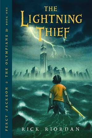 The Lightning Thief, by Rick Riordan (I read this literally 100 times during breakfast in middle school): Books Jackets, Young Adult, Percyjackson, The Lightning Thief, Greek God, Rickriordan, Greek Mythology, Rick Riordan, Percy Jackson